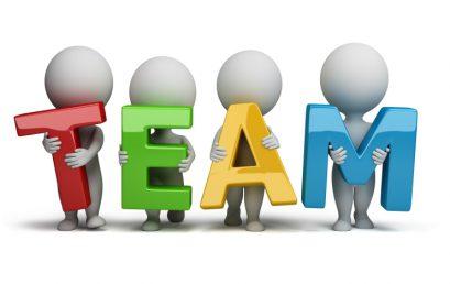 Team indelingen